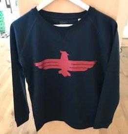 Beest Beest sweater navy eagle women