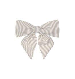 Mimi & Lula Mimi & Lula pepper printed bow stripes beige