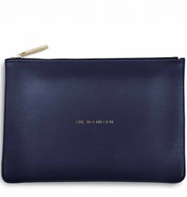 Katie Loxton Katie Loxton pouch - one in a million navy 24x16 cm