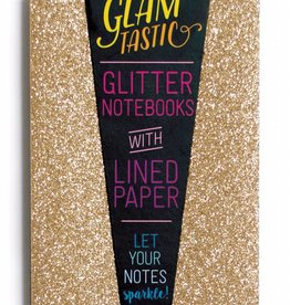 Ooly Ooly glamtastic 3 notebooks gold - bronze