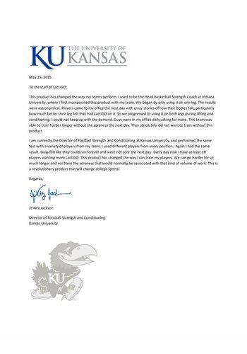 Referentie Kansas Universiteit