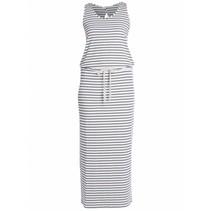Wit gestreepte jurk Taylar