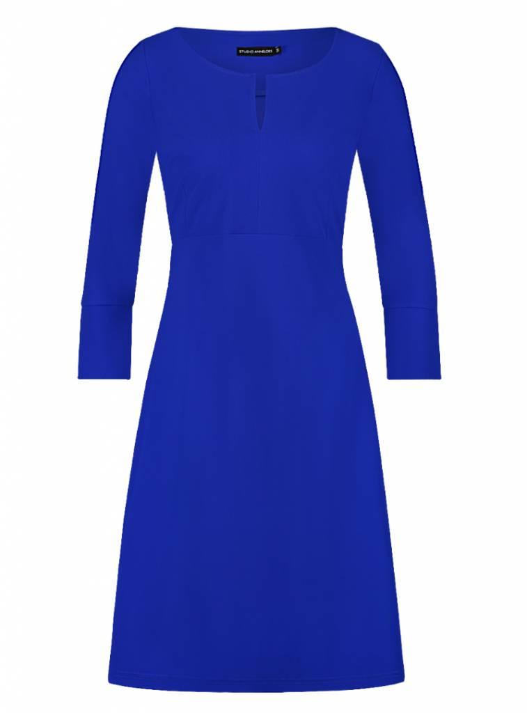Blauwe Cocktailjurk.Kobalt Blauwe Cocktailjurk Populaire Jurken Modellen 2018