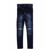 Donkerblauwe skinny jeans Tammy
