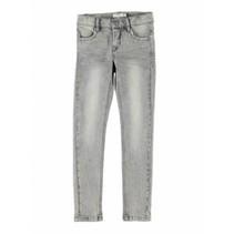 Lichtgrijze skinny jeans Tika