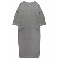 Grijze sweat jurk 760067