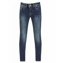Donkerblauwe jeans Julita Flore