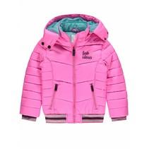Roze winterjas Griwalda