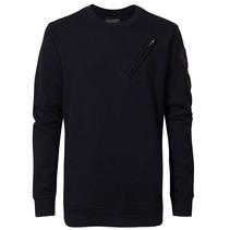 Donkerblauwe sweater SWR317