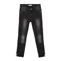 Zwarte biker jeans Francis
