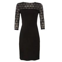Zwarte Nina jurk Burano