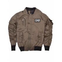 Groene jacket Gabbiano