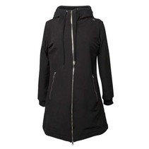 Zwarte softshell jas Jane