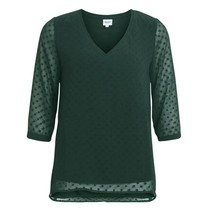 Groene top Claire