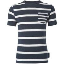 Donkerblauw t-shirt Noale