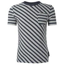 Donkergrijs t-shirt Nesso