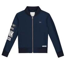 Donkerblauwe jacket Evan