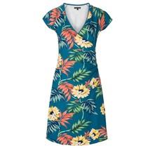 Blauwe jurk Cross Marisol