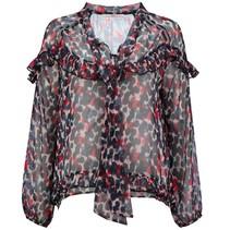Cerise blouse Dorca