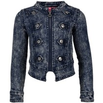 Donkerblauwe denim jacket 5201
