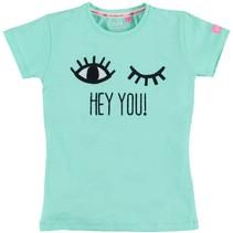 Mintgroen eyes shirt Frederieke