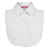 Witte Collar Broderie