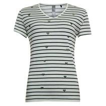 Wit gestreept t-shirt 813118