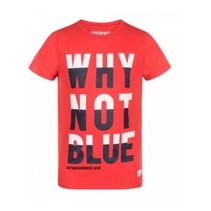 Rood t-shirt Ves