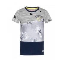 Donkerblauw t-shirt Eelco