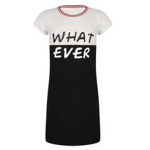 Zwarte jurk what ever 3171