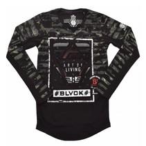 Zwarte longsleeve BLVCK 7284