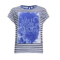 Why knot print t-shirt 813265