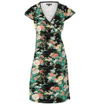 Geprinte jurk Cross Belleflower