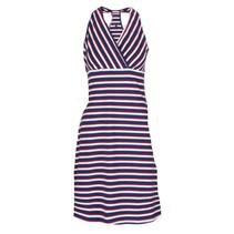 Blauw gestreepte jurk T-back Skipper