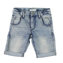 Medium blue x-slim short Theo Clas
