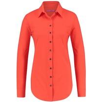 Oranje blouse Poppy