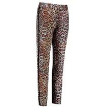 Zwart oranje broek Zoe Leopard