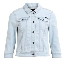 Lichtblauwe denim jacket Sally