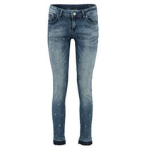 Blauwe slim jeans Tesla