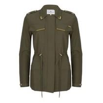Groene jacket Olivia