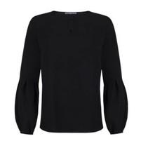 Zwarte blouse Mia