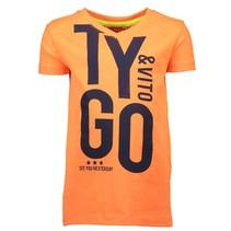 Oranje t-shirt 6406