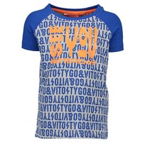 Kobaltblauw t-shirt Nexterday 6412