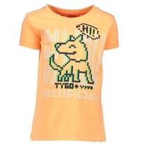 Oranje t-shirt 6415