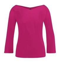 Fuchsia top Ted