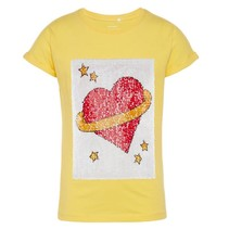 Geel t-shirt Ficon Maxime