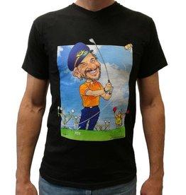 """Exclusief T-Shirt Karikatuur """"KLM"""""""