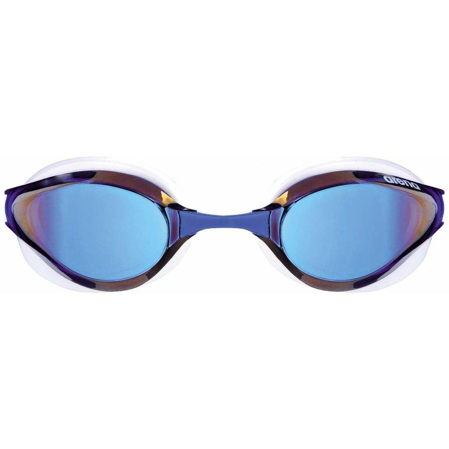 Arena Zwembril Python Spiegel Blauw-Wit