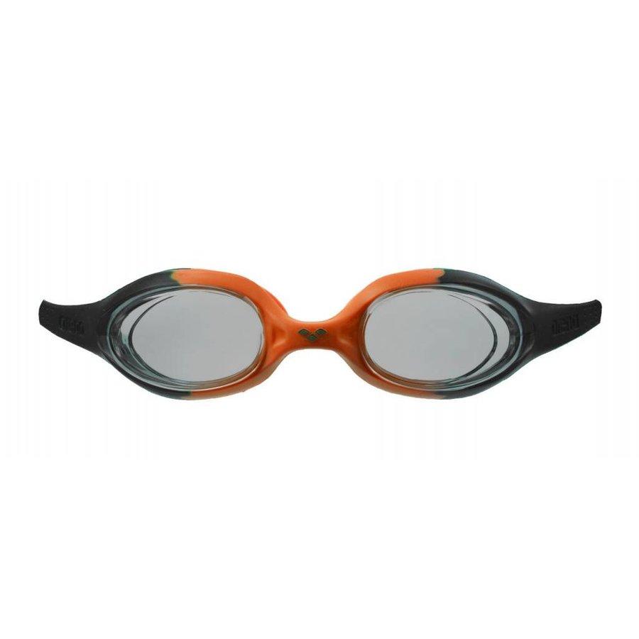 Arena Zwembril Junior Spider Oranje-Zwart