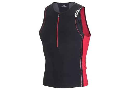 HUUB Core Tri Top Rood Heren
